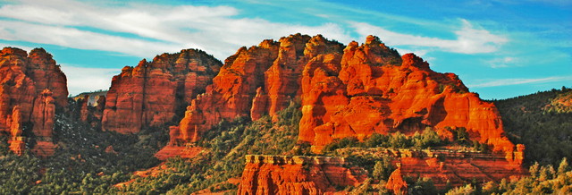 Sedona Red Rock Cliffs