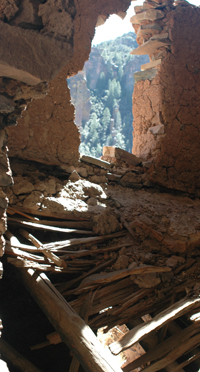 Pueblo Canyon Collapsed Ruins