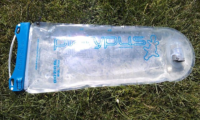 Platypus Big Zip hydration system