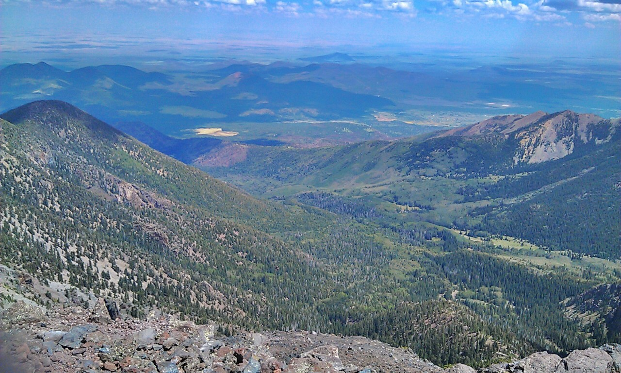 Kachina Peaks Wilderness - The Inner Basin