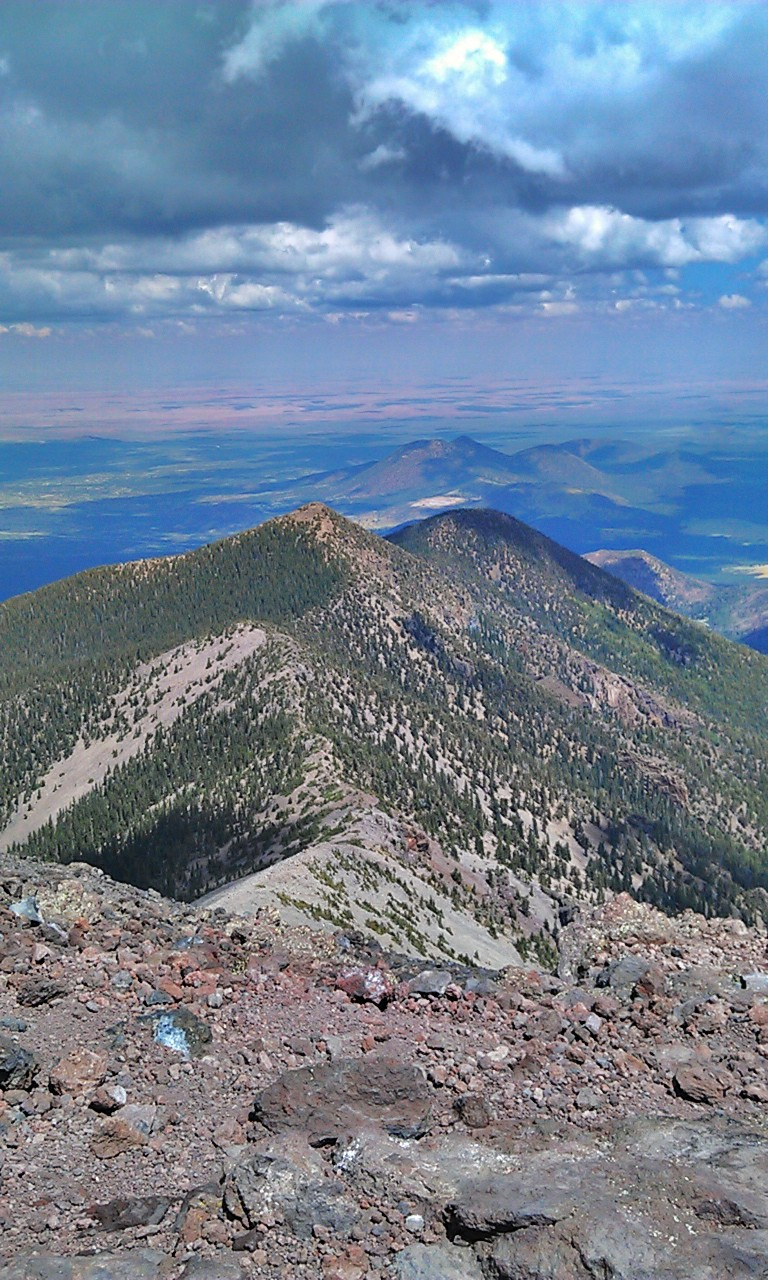 Kachina peaks Wilderness - From the summit