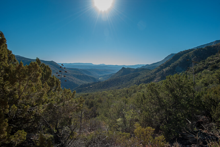 Cherry Creek Valley in the Sierra Ancha Wilderness - by Jabon Eagar