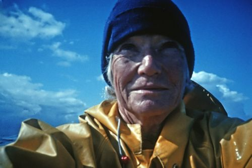 Audrey Sutherland author of Paddling North