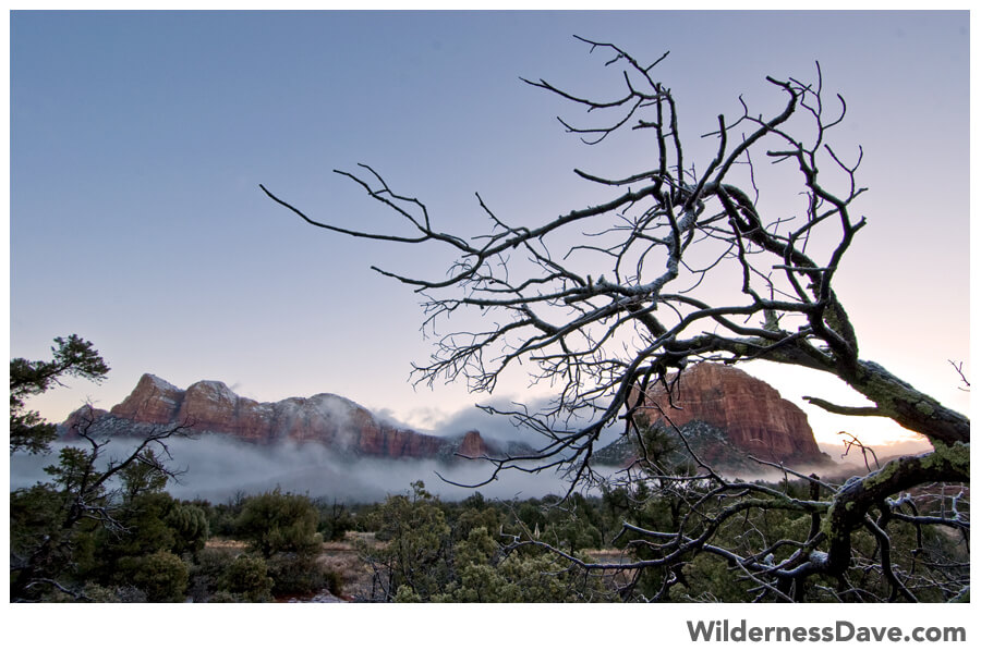 Sedona Morning mists