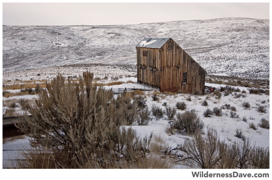 Winter in Oregon - Oregon Trail