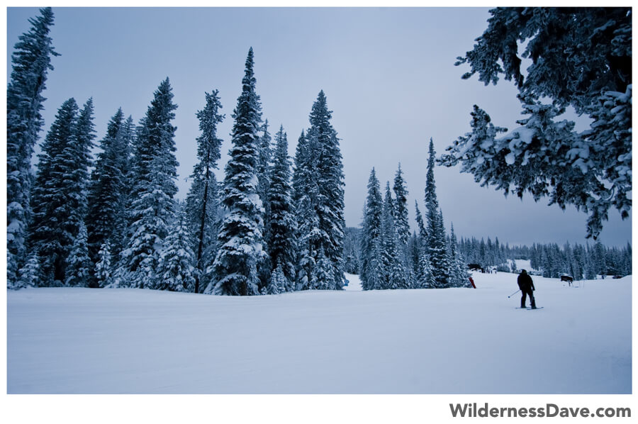 Winter in Oregon - Anthony Lakes
