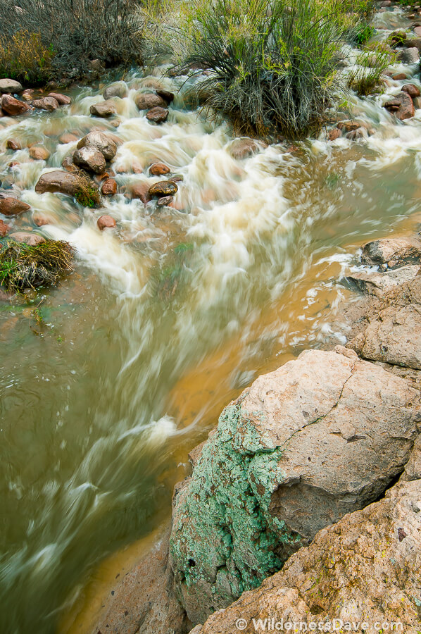 Photograph of the Week - Boulder Creek-Superstition Wilderness