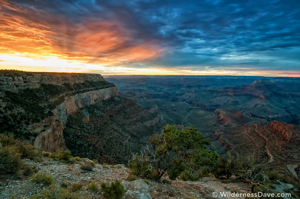 Shoshone Point- Sunset in the Canyon