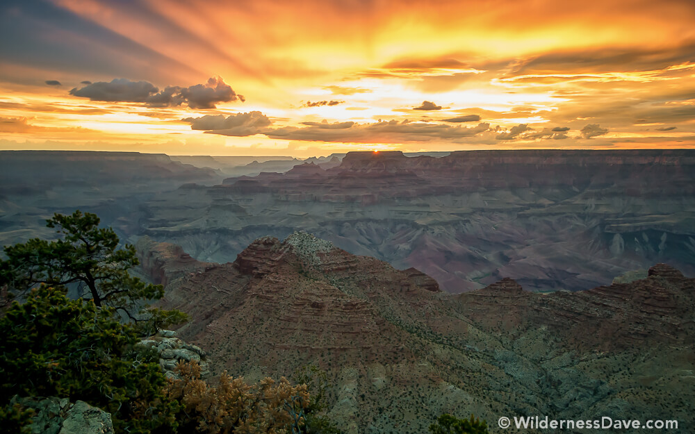 Watchtower Sunset Day 2- Sunset in Grand Canyon
