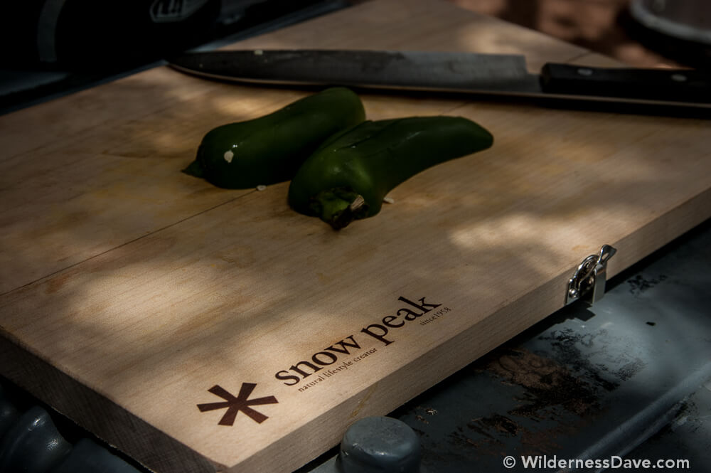 Snow Peak cutting board