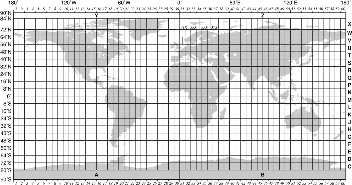 Blank World Map With Grid Lines Images Diagram Writing
