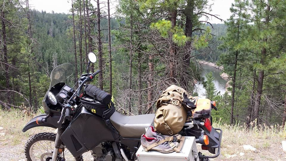 AZBDR on KLR Blue Ridge Reservoir